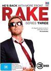 Rake : Series 3 (DVD, 2015, 3-Disc Set)