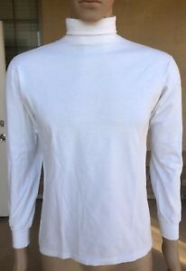 c0f87a930b54a5 Image is loading Vintage-Hanes-Activewear-Turtle-Neck-Shirt-USA-Made-