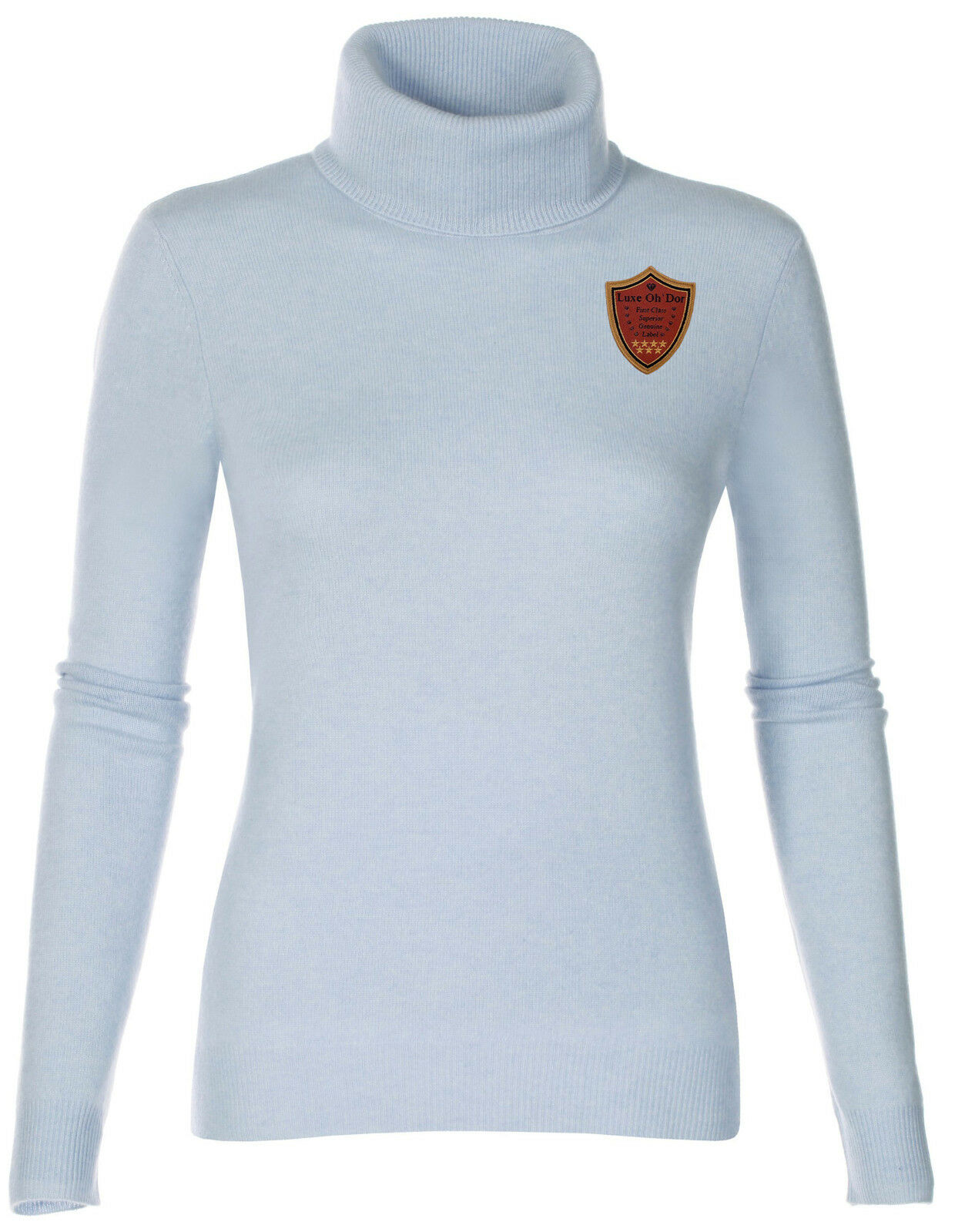Luxe Oh ` Dor 100% Cashmere Pullover Pullover Pullover Preppy Catherine Nero 34 - 52 Xs   S-Xl   afee08