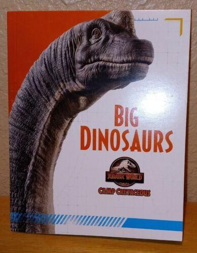 2020 MCDONALD/'S HAPPY MEAL JURASSIC WORLD big dinosaurs book