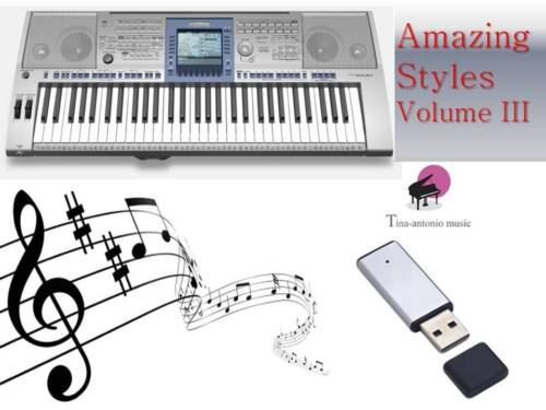 PSR 1500 USB-Stick+VOLUME 3 Song Styles NEW