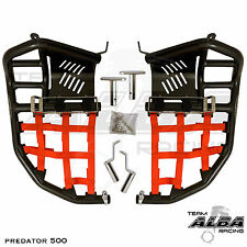 Polaris Predator 500 Nerfbars Atv Nerf Bars Black Bars//Black Nets