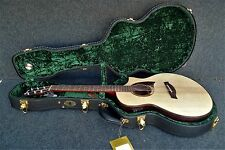 IBANEZ AEW22CD-NT 6 STRING EXOTIC Acoustic-Electric & CASE SPRUCE TOP Fishman
