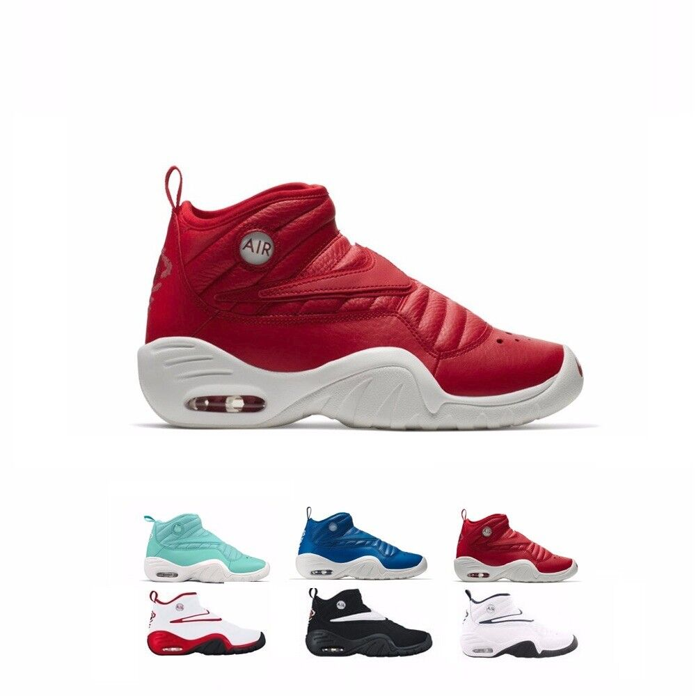880869 Nike Air Shake Ndestrukt Retro Basketball Shoes Men's & GS Kids