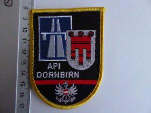 Österreich Polizei Abzeichen API Dornbirn Austria police patch