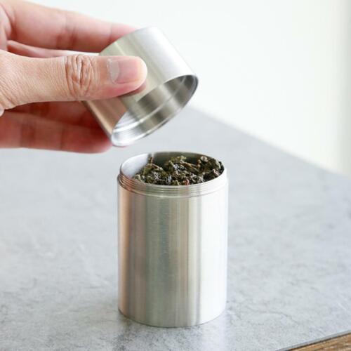 Zuckerdose Edelstahl Teedose Gewürzdosen Vorratsgläser Kaffee Aufbewahrungsdosen