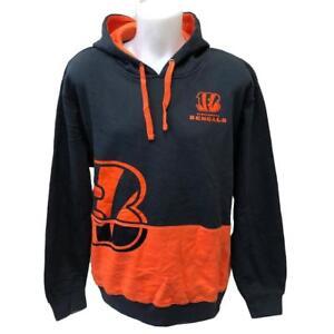 NFL Men s New Cincinnati Bengals Hoody Sweatshirt Medium Large XL ... ae1ae0f02b26