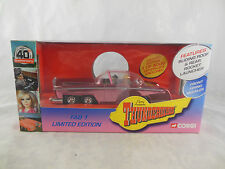 Corgi Classic CC00603 Thunderbirds FAB 1 in Pearlscent Pink + Lady Penelope Fig