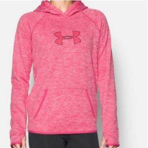 c04ba5d2da22 Details about UNDER ARMOUR Women's Storm ColdGear Twist Loose Fit Lt Weight  Hoodie Sz M $59.99