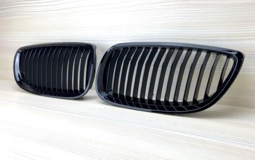 BMW 07-10 E92 E93 328i 335i 2D M3 Negro Brillante Frontal Rejilla Regalo dedo Spinner