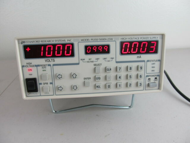 Stanford Research Systems SRS PS350 High Voltage Power Supply 5000v 25w