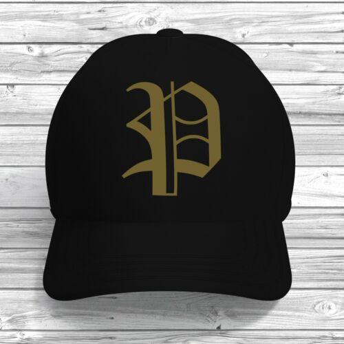 P initial Casquette de baseball réglable Personnalisé Imprimé Couleur Texte Chapeau alphabet lettre