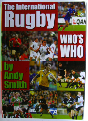 1 of 1 - #JK26,, Smith, Andy INTERNATIONAL RUGBY WHO'S WHO, SC GC
