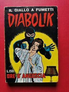 DIABOLIK-N-6-II-SERIE-ORE-DI-ANGOSCIA-ORIGINALE