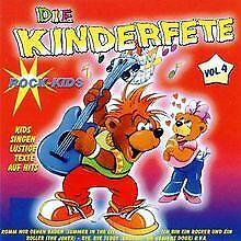Die-Kinderfete-Vol-4-Rock-Kids-von-Kinderlieder-CD-Zustand-gut