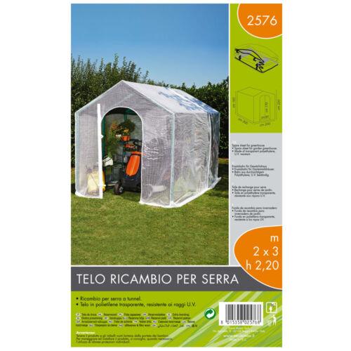 Telo Ricambio per Serra 200 x 300 x h 220 cm