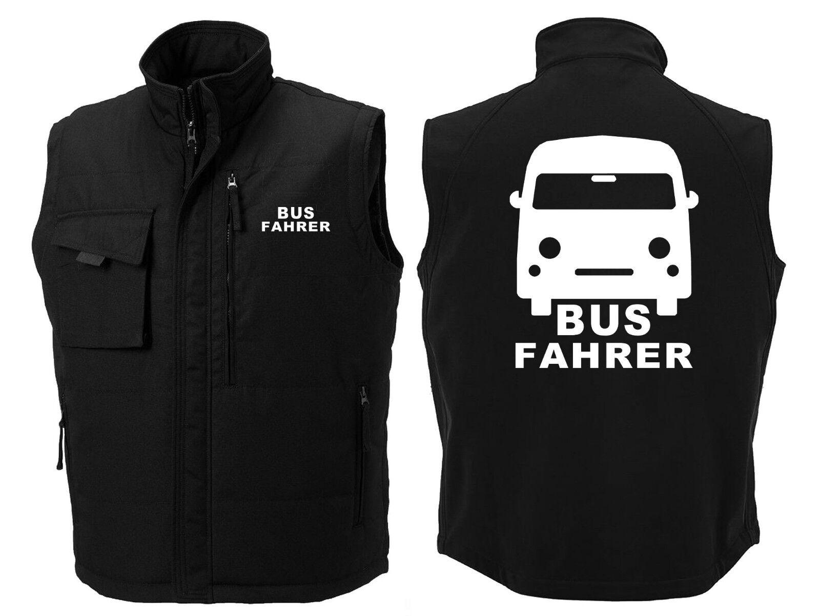 Fahrer Weste   Busfahrer   Omnibus   Schulbus   Reise   Fernbus        102-37-02