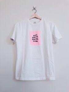 e1bcb37ccc8a Anti Social Social Club ASSC Box Logo T Shirt Tee Size M Medium ...