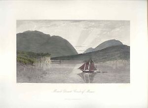 United-States-Mount-Desert-Coast-of-Maine-Drawing-H-Fenn-Engraving-Hinshelwood