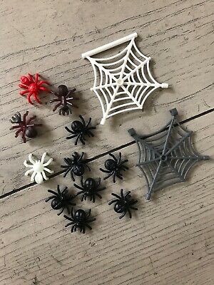 New Genuine LEGO Two White Spider Webs Animal