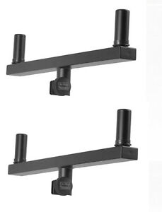 2-New-Pair-On-Stage-SS7920-Dual-Mount-Speaker-Bracket-Buy-it-Now-Auth-Dealer