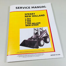 Ford New Holland L553 L554 L555 Skid Steer Loader Service Repair Manual Chassis