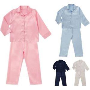 infantil-Saten-Manga-Larga-Pijama-Pijama-Infantil-Dormir-Ninas-2-13-Ninos