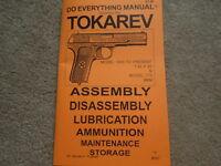 Tokarev 7.62x25 9mm Pistol Service Manual 46 Pg.