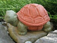 Garden Turtle, Cute Concrete Turtle, Cement Turtle Statue Tortoise Free Shipping
