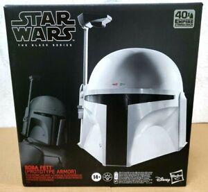 Star Wars Black Series ~ Boba Fett Prototype Armor Electronic Helmet ~ IN STOCK
