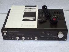 Technics SU-V4X Integrated Stereo MM & MC Phono Stage Vintage Hi-Fi Amplifier