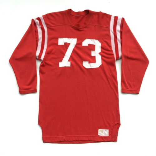 Vintage Russell Southern Co. Jersey Size 44 Red Di