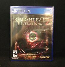 Resident Evil Revelations 2 (PlayStation 4)  / Brand New / Sealed / Region Free