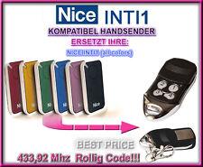 Nice INTI1 kompatibel handsender, 433,92Mhz ersatz fernbedienung