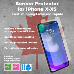 Tempered-Glass-Screen-Protector-Premium-For-iPhone-X-and-XS
