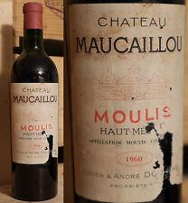 1960er Chateau Maucaillou - Moulis - Haut Medoc - Rarität !!!!