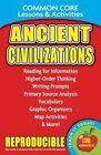 Ancient Civilizations - Common Core Lessons & Activities by Carole Marsh Pap