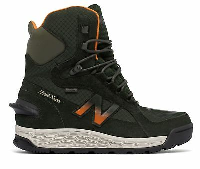 New Balance Men's Fresh Foam 1000 Boot Shoes Grey with Green