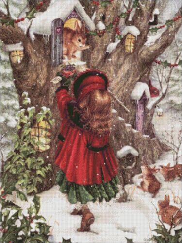 B/&W Symbols Charts Counted Cross Stitch Patterns//Kits Winter/'s Gift