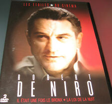 IL ETAIT UNE FOIS LE BRONX + LA LOI DE LA NUIT / ROBERT DE NIRO /  2 DVD 2 FILMS