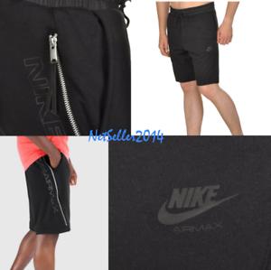 a0fff8f809b604 SZ 2XL 🆕🔥😊 Nike Sportswear Air Max French Terry Shorts Black ...