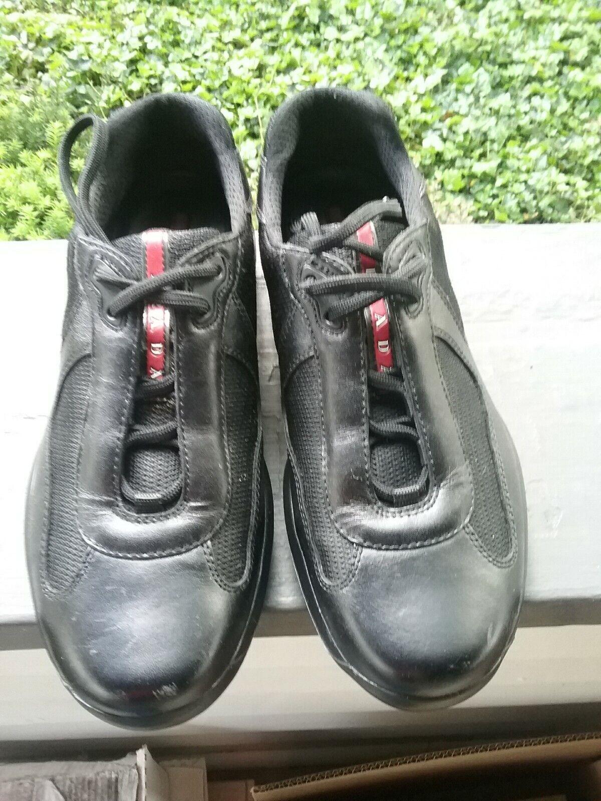 Prada tennis tennis tennis shoes PS 0906 7.5 US c2fabd