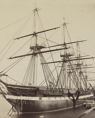 Frigate USS Macedonian during the Civil War Photo Print