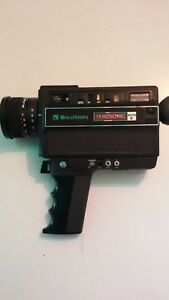 Bell-Howell-Macro-Super-8-Vintage-Filmosonic-Model-1238-Movie-Camera-Vintaje