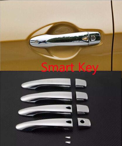 Door Handle Cover Trim For 2014-2019 Nissan Qashqai Rogue Sport Smart Keyhole