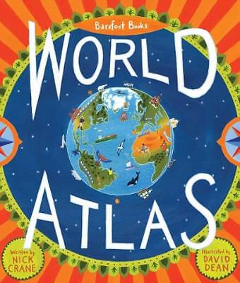 1 of 1 - Barefoot Books World Atlas - 9781846863325