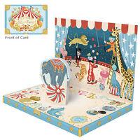 Music Box Greeting Card - Circus Adventure - 78