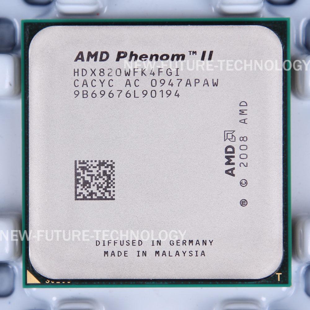 Amd Phenom Ii X4 820 2 8ghz Quad Core Hdx820wfk4fgi Processor For Sale Online Ebay