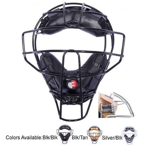 Force 3 Defender Shock Absorbing Umpire Mask