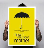 How I Met Your Mother Tv Show Comedy Jason Segel Poster Print Image 180gm A1-3
